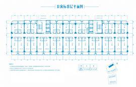 汇金壹号·孔雀湾==公寓户型平面图