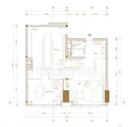 中创国际城==中创派克公寓户型图