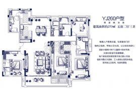 碧桂园联发·天荟公馆(蓉江府)==273平五房两厅三卫
